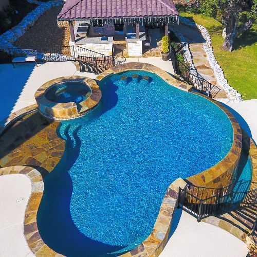 Swimming Pools In San Antonio Pool Builders In San Antonio Pools Unlimited Inc